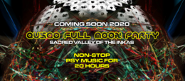 Party Flyer QUSQO FULL MOON PARTY 3 Oct '20, 17:00