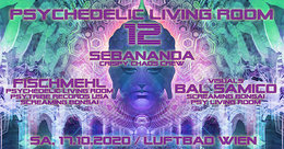 Party Flyer Psychedelic Living Room #12 17 Oct '20, 19:00