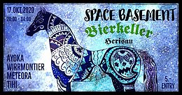 Party Flyer Space Basement 17 Oct '20, 20:00