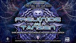 Party Flyer FREU(N)DE AM TANZEN 30 Oct '20, 22:00