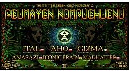 Party Flyer Peumayen Nompuehuenu 30 Oct '20, 14:00