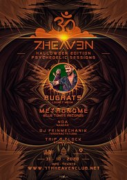 Party Flyer Halloween Psychedelic Session w. RUGRATS and METRONOME 31 Oct '20, 22:00