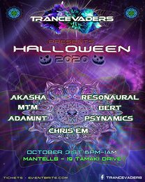 Party Flyer TRANCEVADERS HALLOWEEN 2020 31 Oct '20, 18:00