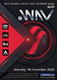 Party Flyer .WAV Techno meets PsyTrance 7 Nov '20, 21:00