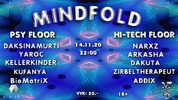 Party Flyer MindFold 14 Nov '20, 22:00