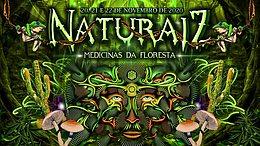 Party Flyer Naturaíz Festival #3 - Medicinas da Floresta 20 Nov '20, 18:00