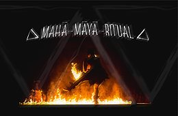 Party Flyer Mahā-māyā Ritual 14. Mai. 21, 16:30