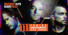 Party Flyer INSTANT RAVE #033 w/ Antaris Project【Livestream】 11 Dec '20, 19:00
