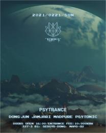 Party Flyer PSYTRANCE 21 Feb '21, 16:00