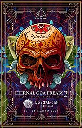 "Party Flyer Popol Vuh ""Eternal Goa Freaks Edition 2"" 20 Mar '21, 22:00"