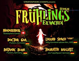 Party Flyer Frühlingserwachen 17. Apr. 21, 22:00