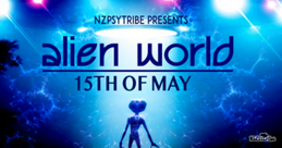 Party flyer: Alien world 15. Mai. 21, 16:00