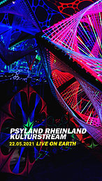 Party flyer: Psyland Rheinland Kultur Livestream 22. Mai. 21, 19:30