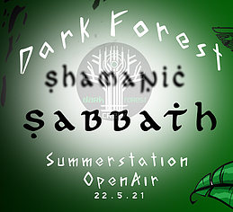 Party flyer: Shamanic Sabbath 22 May '21, 12:00