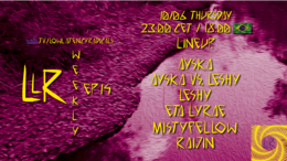 Party Flyer lowlatencyradicals_weekly ep14 10 Jun '21, 23:00
