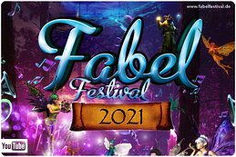 Party Flyer Fabel Festival 2021 10. Jun. 21, 22:00