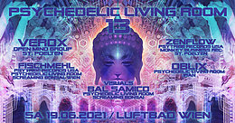 Party flyer: Psychedelic Living Room #13 19 Jun '21, 19:00