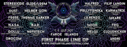 Party Flyer The Fairy Island Festival 1 Jul '21, 18:00