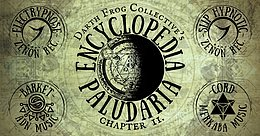 Party flyer: Encyclopedia Paludaria II. w/ Electrypnose / Slip Hypnotic / Barket / Cord 10. Jul. 21, 18:00