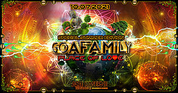 Party Flyer **GOAFAMILY - Place of Love** 10 Jul '21, 22:30