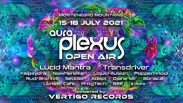 Party flyer: Aura Plexus Open Air Festival 2021 15 Jul '21, 12:00