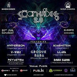 Party Flyer Goan vibes 31 Jul '21, 18:00