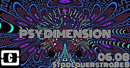 Party flyer: PSY DIMENSION 6 Aug '21, 22:00