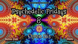 Party Flyer Psychedelic Fridays #8 6 Aug '21, 19:00