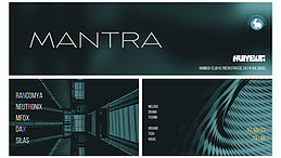 Party Flyer MANTRA 7 Aug '21, 23:00