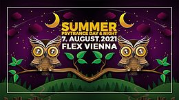 Party flyer: SUMMER PSYTRANCE DAY & NIGHT 7 Aug '21, 17:00