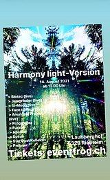 Party flyer: HARMONY LIGHT-VERSION 14 Aug '21, 12:00