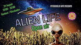Alien Life / Open air 21 Aug '21, 23:00