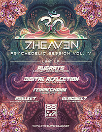 Party Flyer Psychedelic Session Vol. IV 28 Aug '21, 22:00