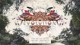 Party Flyer Evolution - Flower of Life 2. Sep. 21, 18:00