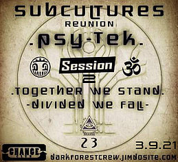 Subculture Reunion II 3 Sep '21, 22:00
