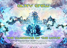 Party flyer: The Awakening of the Lotus 4 Sep '21, 14:00