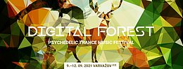 Party Flyer Digital Forest - Psychedelic Trance Music Festival 2021 9 Sep '21, 22:00