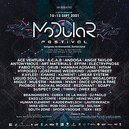 Party Flyer Modular Festival 2021 10 Sep '21, 22:00