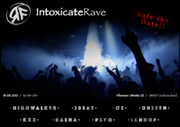 Party Flyer Intoxicating_Rave 18 Sep '21, 16:00