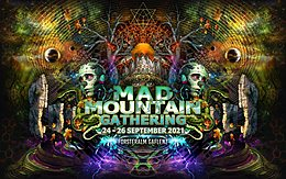 Party flyer: Mad Mountain Gathering 24 Sep '21, 12:00