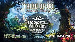 Party flyer: TRIBE OF US - SUMMER CLOSING 25 Sep '21, 22:00