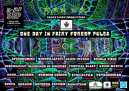Party flyer: ONE DAY IN FAIRY FOREST PULGA 30 Sep '21, 10:00