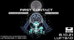 Party flyer: First Contact 8 Oct '21, 22:00