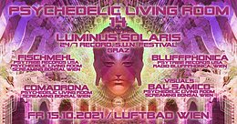 Party Flyer Psychedelic Living Room #14 15 Oct '21, 22:00