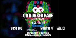 Party flyer: OG Bunker Rave 09 - UV Halloween Edition (2G) 28 Oct '21, 20:00