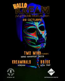 Party flyer: HalloKREAM 2021 29 Oct '21, 23:30