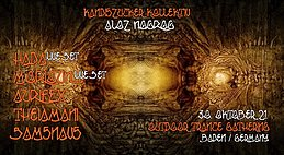 Party flyer: Kandiszucker Kollektiv: Aloz Nogrog 30 Oct '21, 18:00
