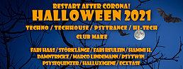 Party flyer: Halloween 31 Oct '21, 22:00