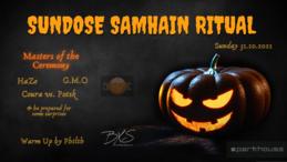 Party flyer: Sundose Samhain Ritual 31 Oct '21, 22:00