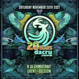 Party flyer: 20 Years Dacru 20 Nov '21, 21:00